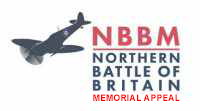 Northern Battle of Britain Memorial at Doncaster Logo
